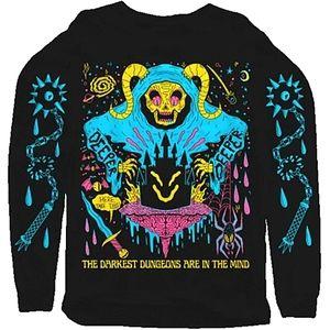 THE DARKEST DUNGEONS ARE IN THE MIND Sweatshirt!!